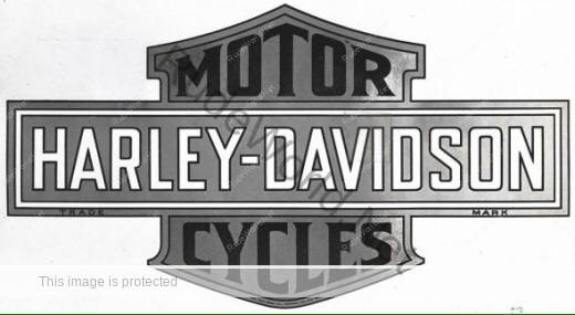 History of the Harley Davidson logo